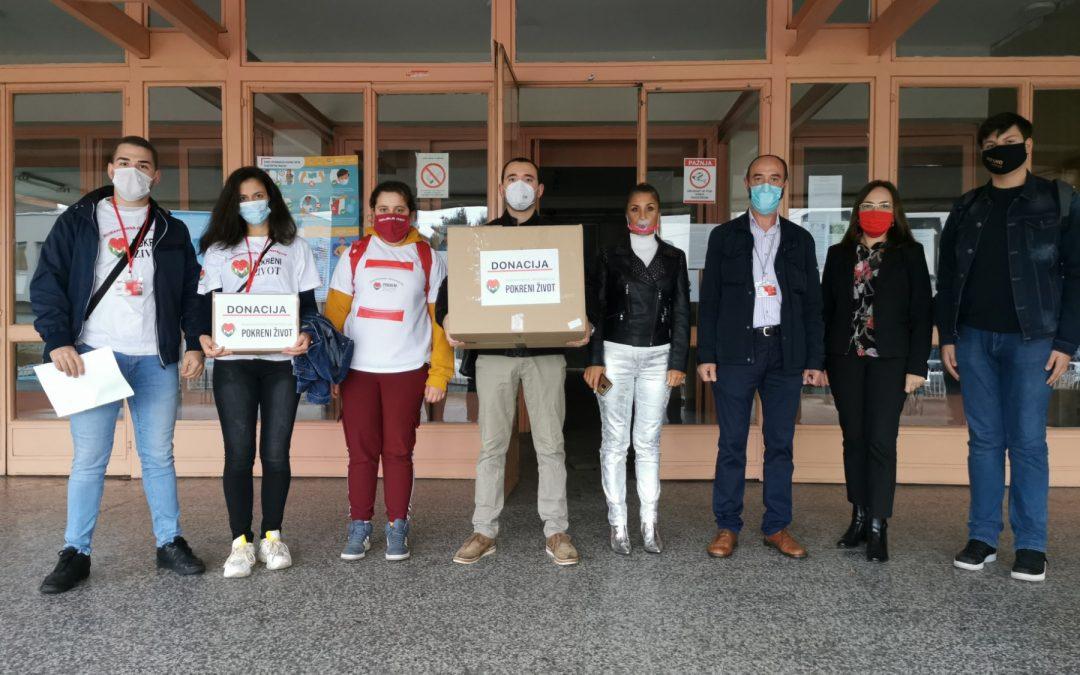 Подела заштитних маски образовним установама