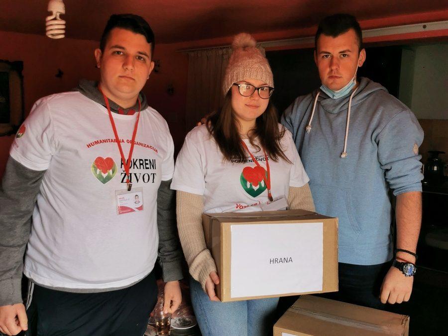 Испорука преко 130 пакета помоћи у Власотинцу, Губеревцу и Великој Грабовници