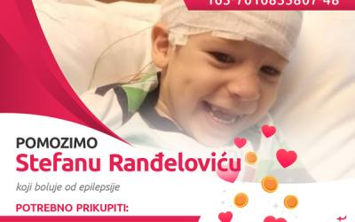 Стефану Ранђеловићу је хитно потребно око 40.000 евра за операцију