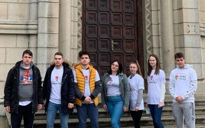Тим волонтера организације посетио градску цркву Свете Тројице у Лесковцу