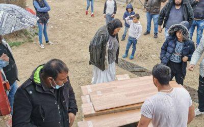 Испорука хуманитарне помоћи у Власотинцу, В. Грабовници и Губеревцу