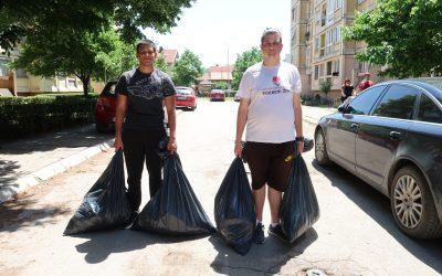 Акција чишћења и уређења јавне површине у насељу Дубочица