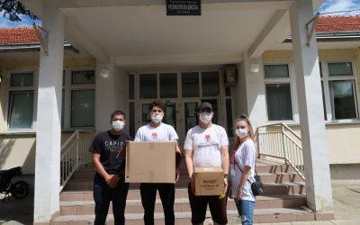 Уручено 25.000 трослојних заштитних маски свим средњим школама