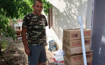 Помоћ стигла Томиславу из Кутлеша